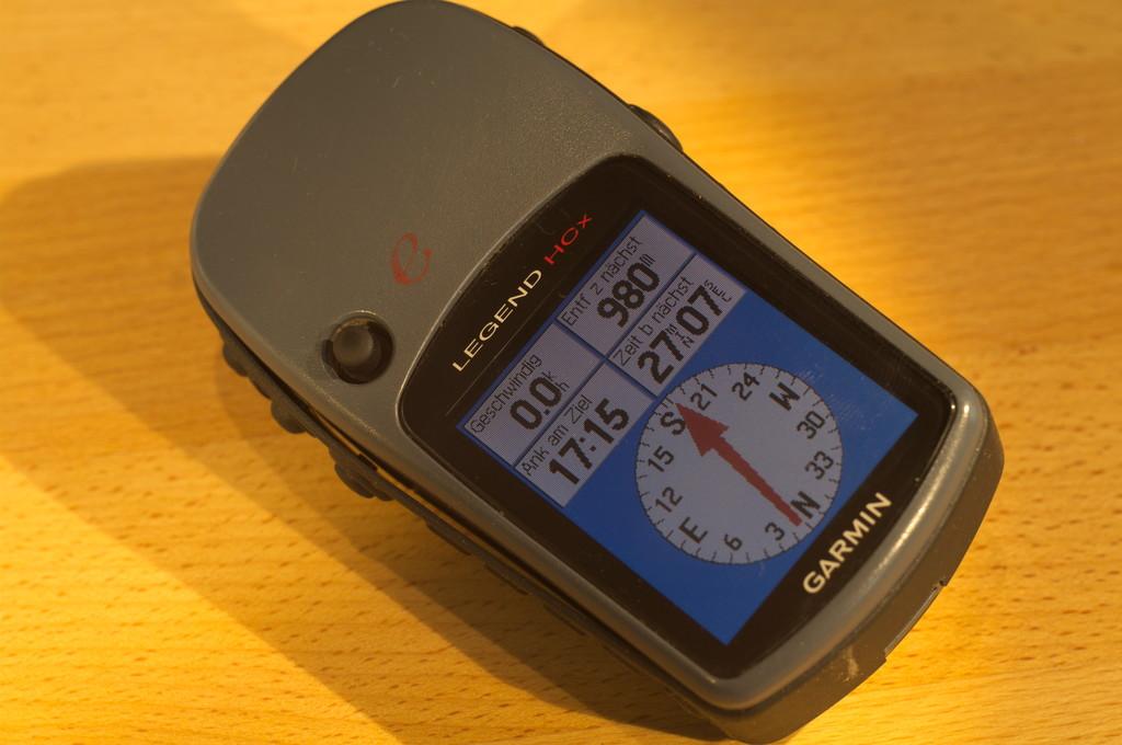 GPS Garmin eTrex mit Kompass-Anzeige